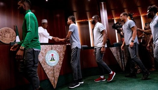 Buhari assures Super Eagles of full support and blessings of Nigerians