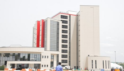VIDEO: Buhari commissions new EFCC building, says war against corruption must be won