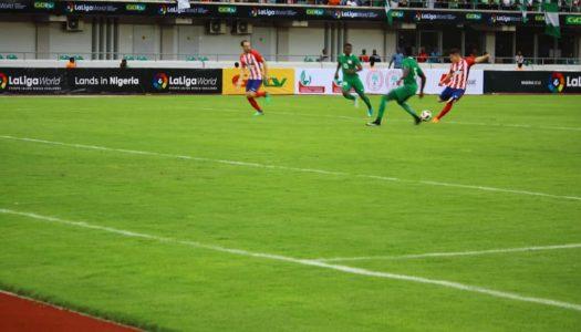 Atletico Madrid defeat Nigeria in five-goal thriller