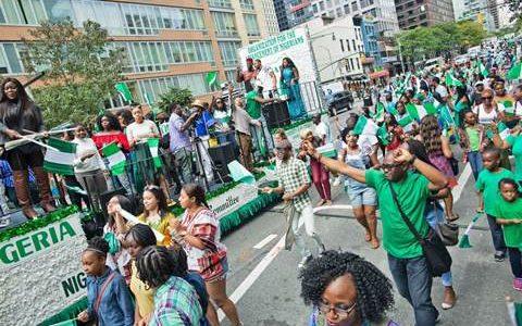 Nigerians protest against racial bias in U.S