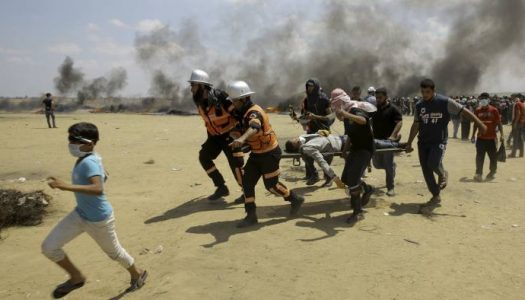 JERUSALEM EMBASSY: 41 Palestinians shot dead. over 1000 wounded as US opens Embassy