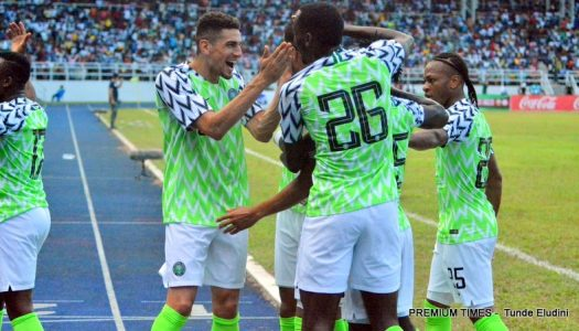 Super Eagles play 1-1 with DR Congo in Port Harcourt
