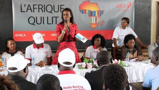 UBA FOUNDATION LAUNCHES 'READ AFRICA' INITIATIVE IN GABON, MOZAMBIQUE