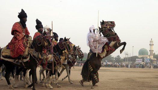 At least 10 riders fall off horses in Dutse during Sallah Durbar