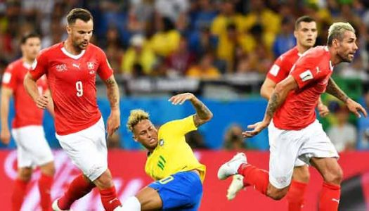 Russia 2018: Switzerland hold Brazil to a draw
