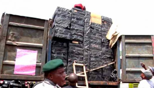 Customs intercepts contraband worth N157 million in Bauchi