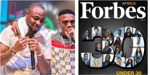 FULL LIST: Davido, Wizkid, Falz make 2018 Forbes Africa under-30 achievers