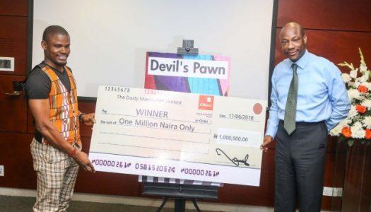 """""""DEVIL'S PAWN"""" written ten years ago wins GTBank's Dusty Manuscript contest"""