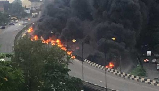 Lagos announces preliminary report of Otedola fire accident, restricts tankers to designated routes