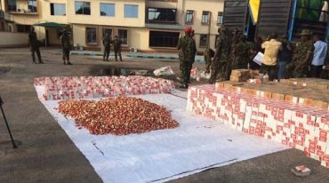 Army intercepts three trucks loaded with 300,000 live cartridges