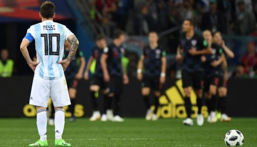 Russia 2018: Croatia thrash Messi's Argentina 3-0 to reach Round of 16
