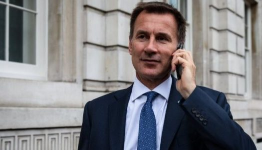 Jeremy Hunt appointed as new British foreign minister