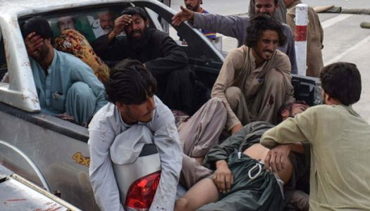 At least 85 killed as suicide bomber hits Pakistan Election Rally