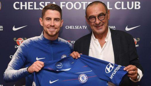 Jorginho joins Chelsea from Napoli