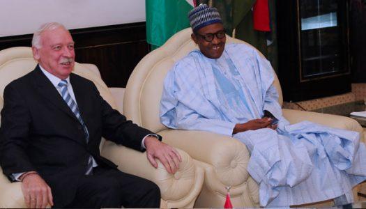 Buhari thanks Denmark for championing dairy farming, says it 'will save Nigeria' from ferdsmen, farmers crisis