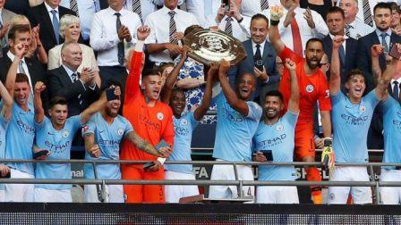 Baptism of fire for Sarri as Aguero's brace help City defeat Chelsea in Community Shield