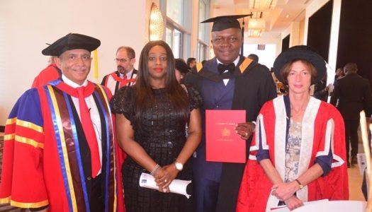 Lancaster University Honours Valentine Ozigbo, MD/CEO Transcorp Hotels