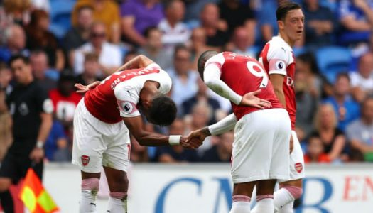 Cardiff City 2-3 Arsenal: Aubameyang-Lacazette combine to give Gunners victory