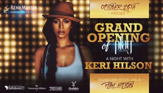 Keri Hilson to perform in Abuja on Friday