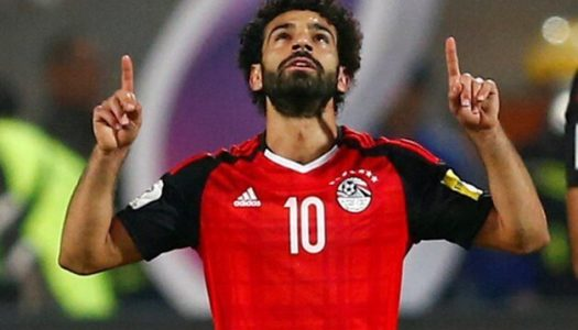 Salah limps off after scoring directly from corner for Egypt