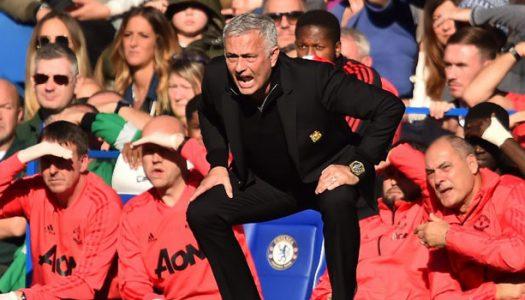 Mourinho not happy Chelsea drew United, Sarri apologizes to the former