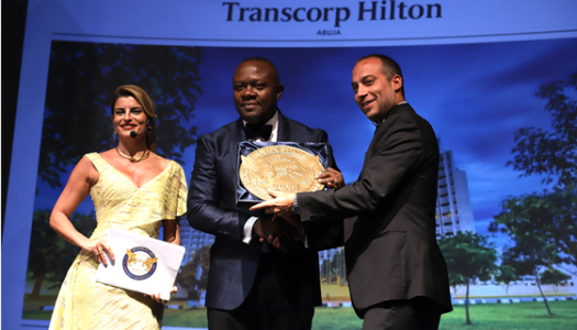 Transcorp Hilton Abuja Wins Big at Global Travel and Hospitality Awards