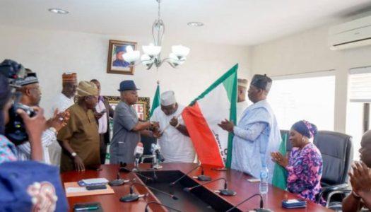 Lagos, Oyo, Ogun PDP candidates get flag