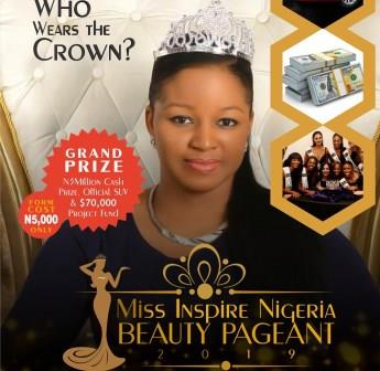 Win 3million Naira Cash Prize, Exotic SUV, $70,000 At The Nigeria Beauty Pageant 2019